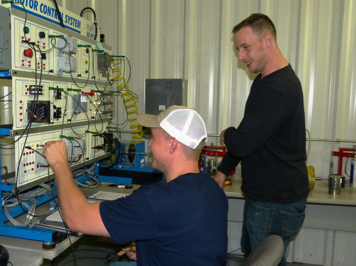 Nti Business And Industry Assessments Classes Electrical Wiring