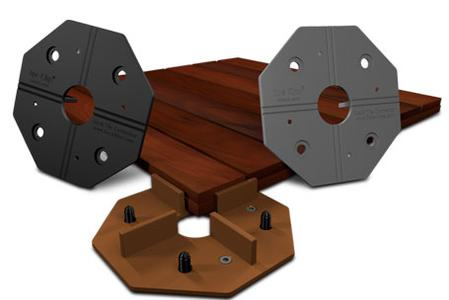 Deck Tile Connector System