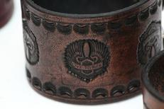 Custom Leather Cuffs