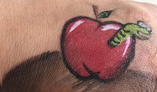 apple face paint