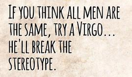 how to treat a virgo man in relationship