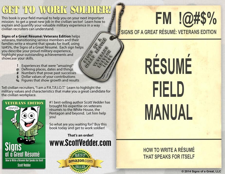 Signs of a Great Résumé: Veterans Edition