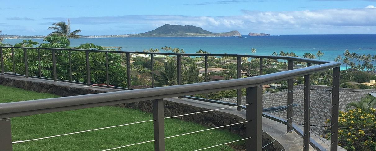 Aluminum Railing Systems - Island Railing & Gates Llc - Honolulu, Hi