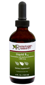 Adaptogen Research, Liquid B12