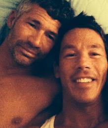 Jeffrey Glasko and David Bromstad