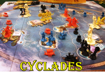 Matagot's Cyclades is a favorite at The Gaming Annex in Muskegon
