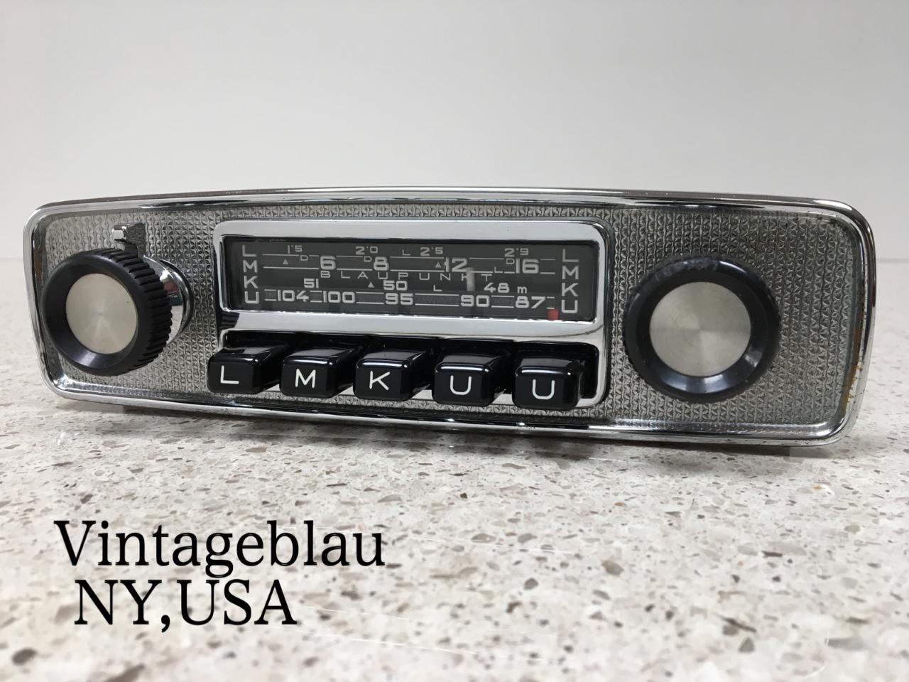 Vintageblau Classic Car Radios - Vintage Blaupunkt Radios