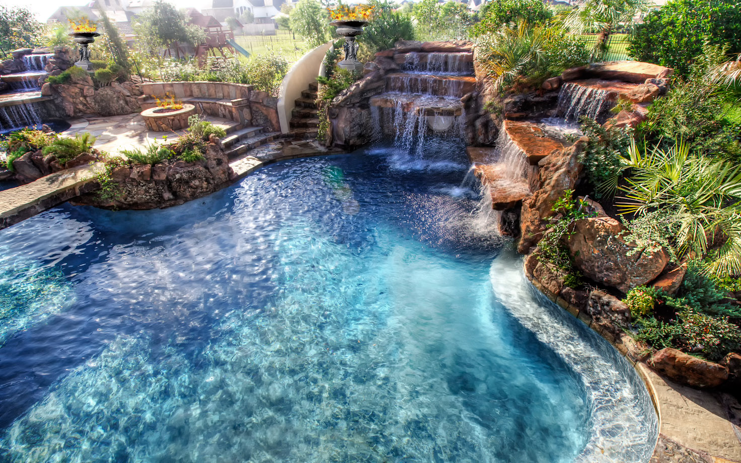 cool pools with waterfalls and slides and caves nicole cool pools with caves