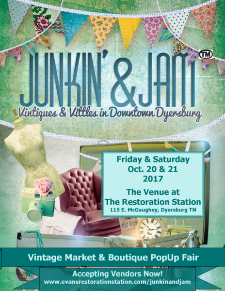 Junkin' & Jam™ Event Info & Vendor Application