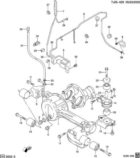 Chevy,Suzuki, KIA Actuator Air Pump and Parts New