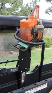 UTV Roll Bar Chainsaw Mount