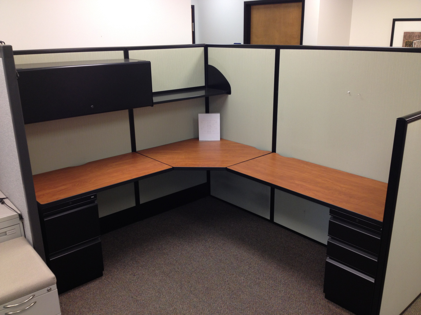 used cubicles, used office cubicles - strictly business - portland, or