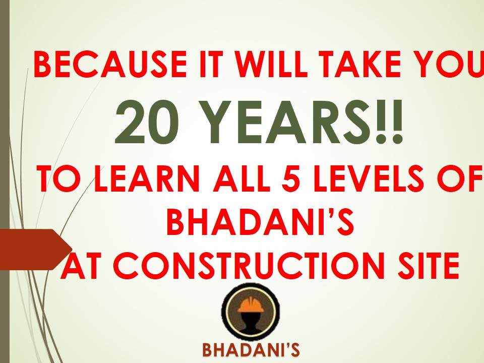 Bhadani quantity surveyors and training pvt ltd practical training bhadani quantity surveyors and training pvt ltd practical training institute for quantity surveyors civil engineers architects billing engineeers fandeluxe Choice Image