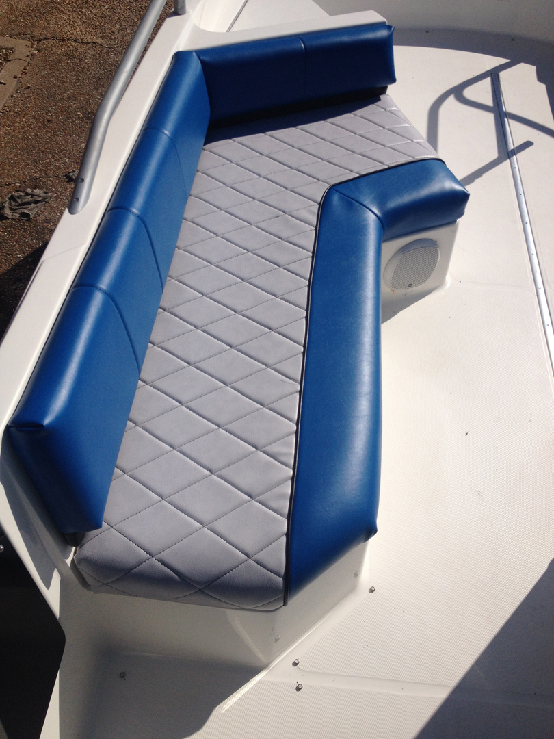 large introduction marine new vinyl reupholster seats boat interior making id