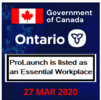 ProLaunch is listed an an Essential Workplace