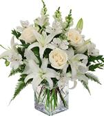 Sympathy flowers bouquet