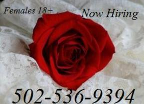 Now Hiring Females 18+