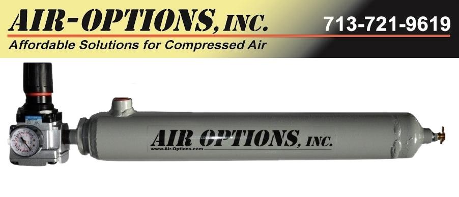 Low Cost Compressed Air Dryers from Air Options, Inc.