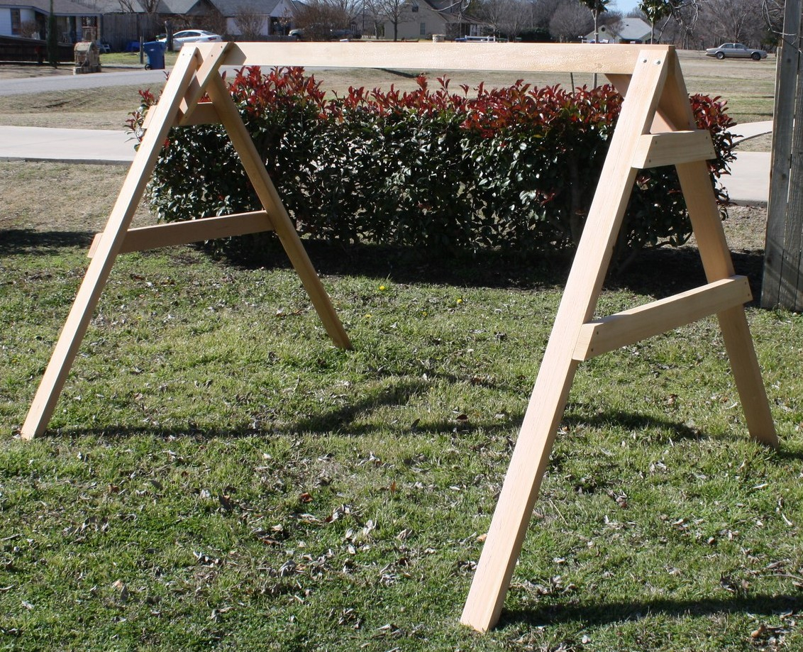Short A-frame Swing Stand