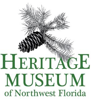 Heritage Museum Logo with Pinecone