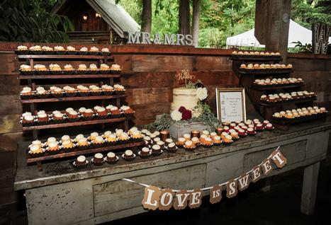 Cake Cupcake Wood Stands