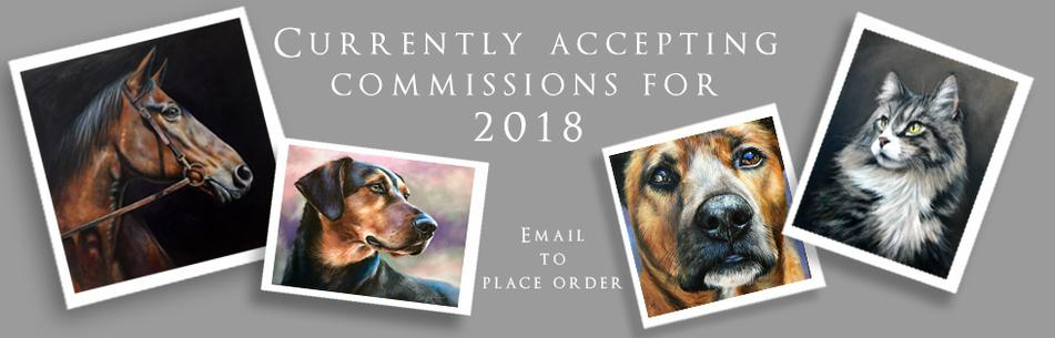 Holiday Commissions - Animal Portraits