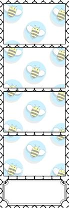Bumblebee Booths Photo Strip sample #7
