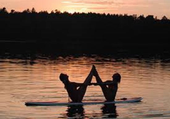Yoga Pilates Stand Up Paddle Board