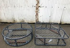 how to make round crab pots