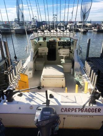 Carpetbagger Fishing Charters Conneaut Ohio