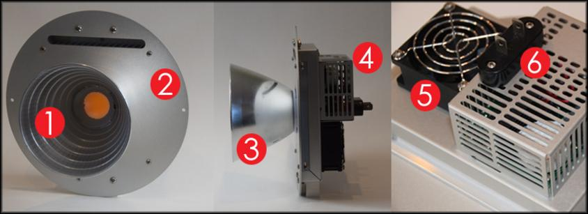 Key Features of the RP64 Par64 LED replacement lamp