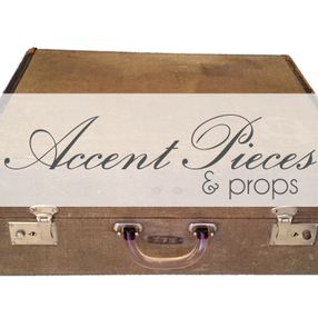 rent vintage luggage and accent pieces