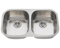 Solaris 205 Stainless Steel Sink Double Bowl