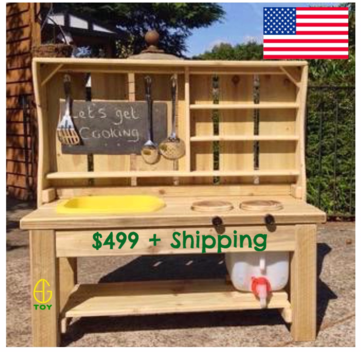 Mud kitchen USA