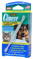 Clinere Pet Ear Cleaners and Wipes Kit