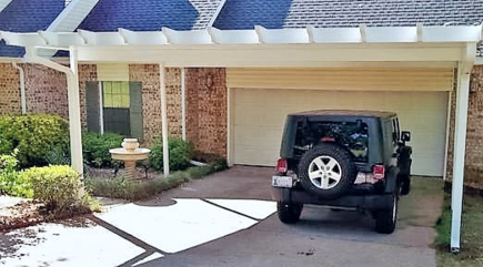 Carports  Patio Covers Of Oklahoma - Carport off house