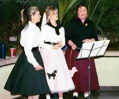 50's Themed Event Singers-Entertainment at a Corporate Event.