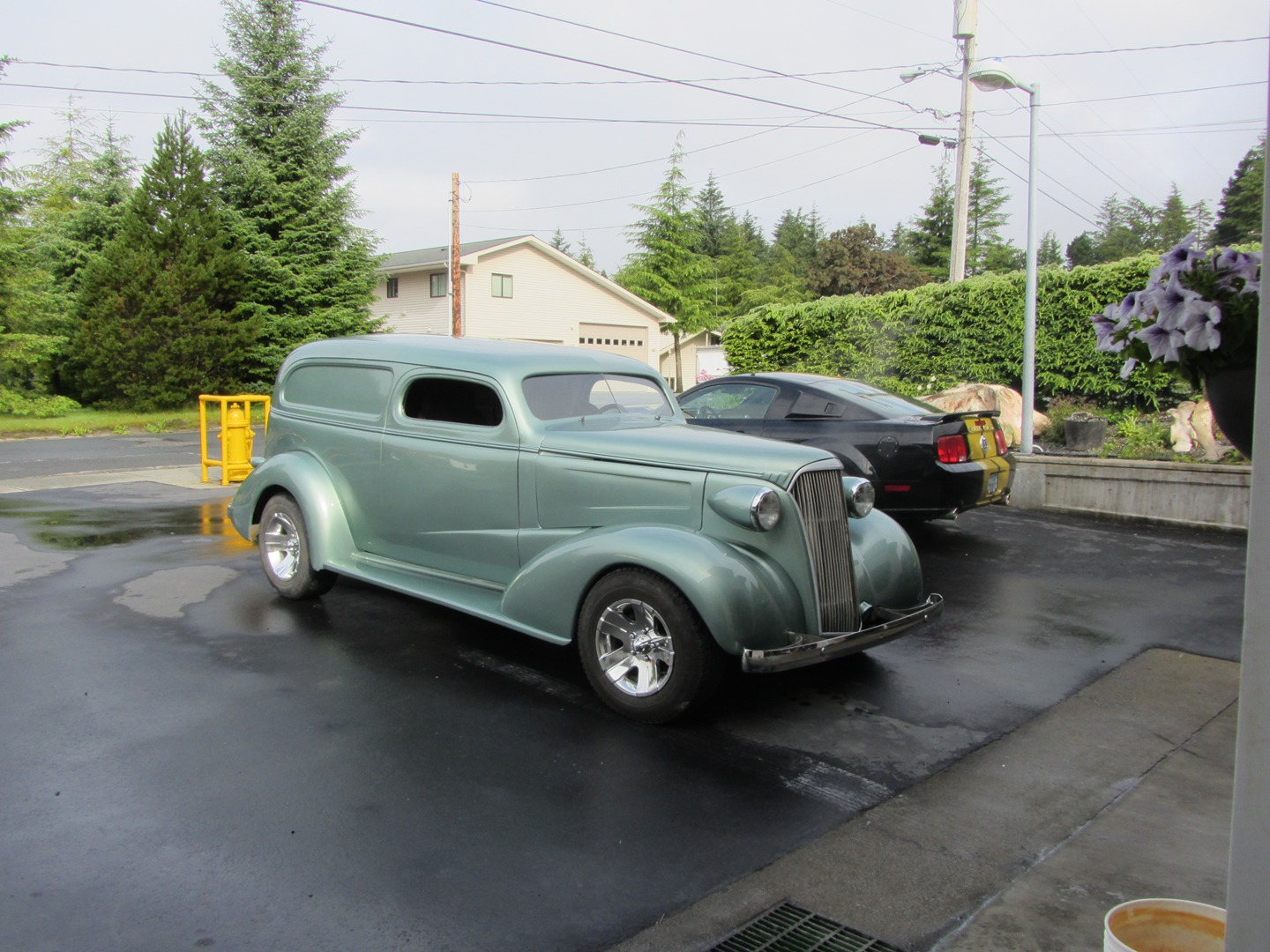1937 Chevy Sedan Delivery 4x4