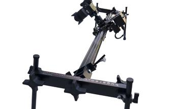 This is a 44 inch Camera motorized slider, with time Lapse Features, speed and position control. Great with dslrs, camcorders and cameras weighing up to 7 pounds.