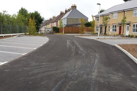 Coombe Valley, Surfacing works