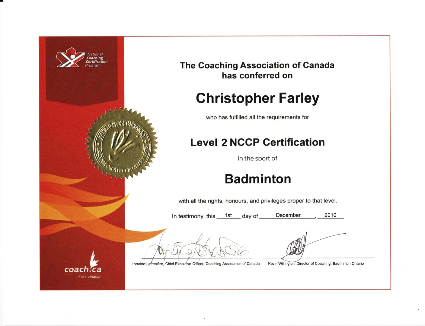 Services brantford badminton club all of our coaches have completed various components of the national coaching certification program nccp and are constantly involved in upgrading and xflitez Choice Image
