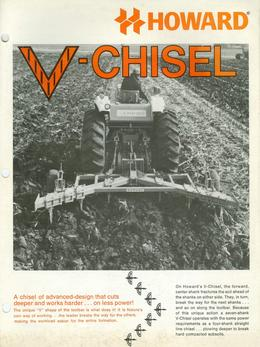 Howard V-Chisel Brochure