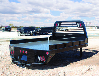 Smooth Rails Flat Deck Truck Beds For Sale In Redding