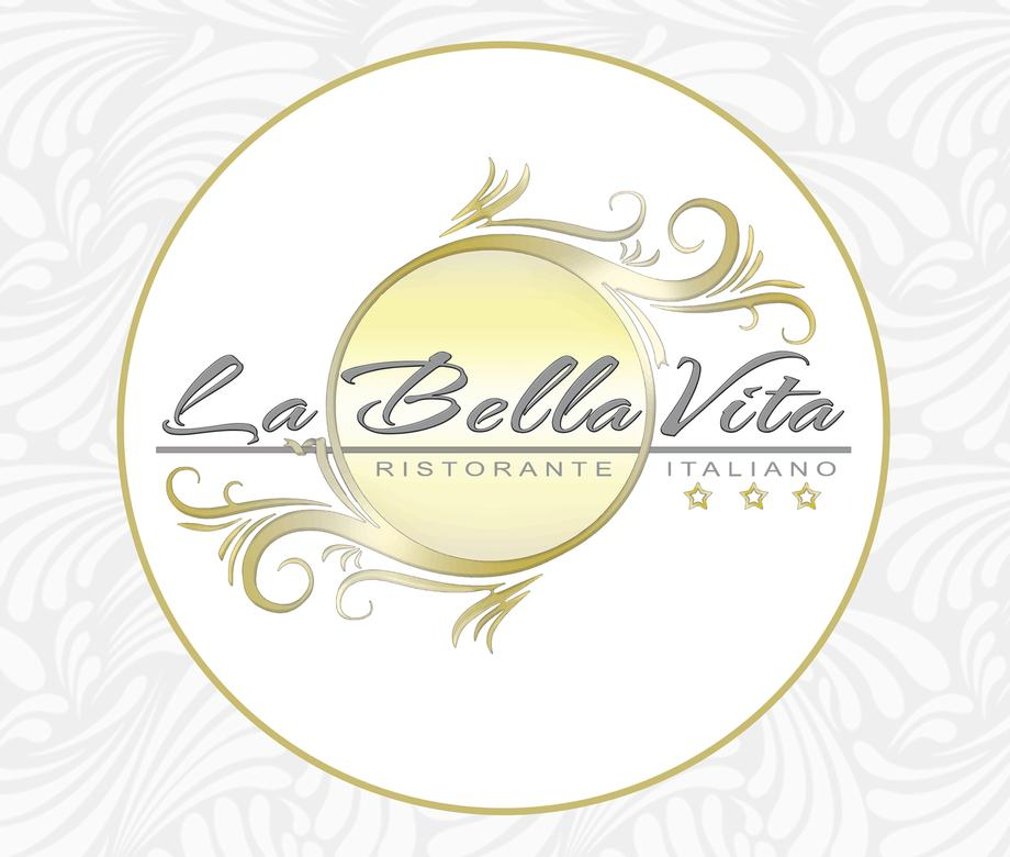 LA BELLA VITA RISTORANTE ITALIANO IN GERMANIA RESTAURANT LOGO TIPO DESIGN PROJECT DESIGN107