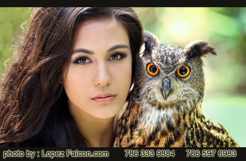 99497e1ca Quinces Miami Animals Tiger owl buho Sweet 15   Quinceanera Photography