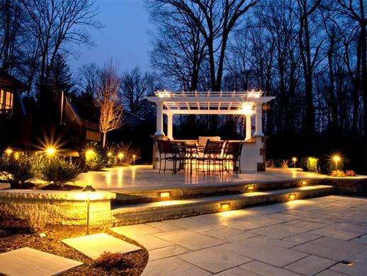Landscape and Outdoor Lighting Services and Cost in Lincoln NE | Lincoln Handyman Services