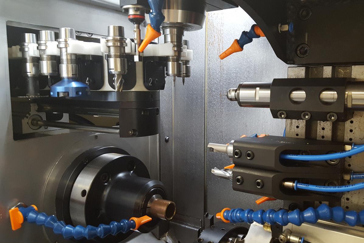 Ringtech Cnc Machine Tools Wedding Rings Manufacturing
