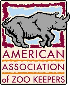 American Association of Zoo Keepers Logo