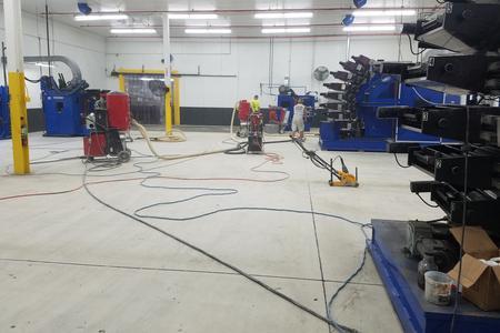 Akron Ohio Industrial Epoxy Floor