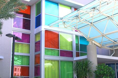 Solar Graphics window films for the home interior design condo entrance picture image